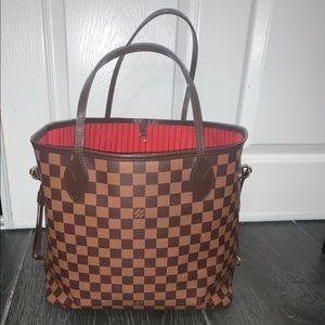 Authentic Never full mm Louis Vuitton bag